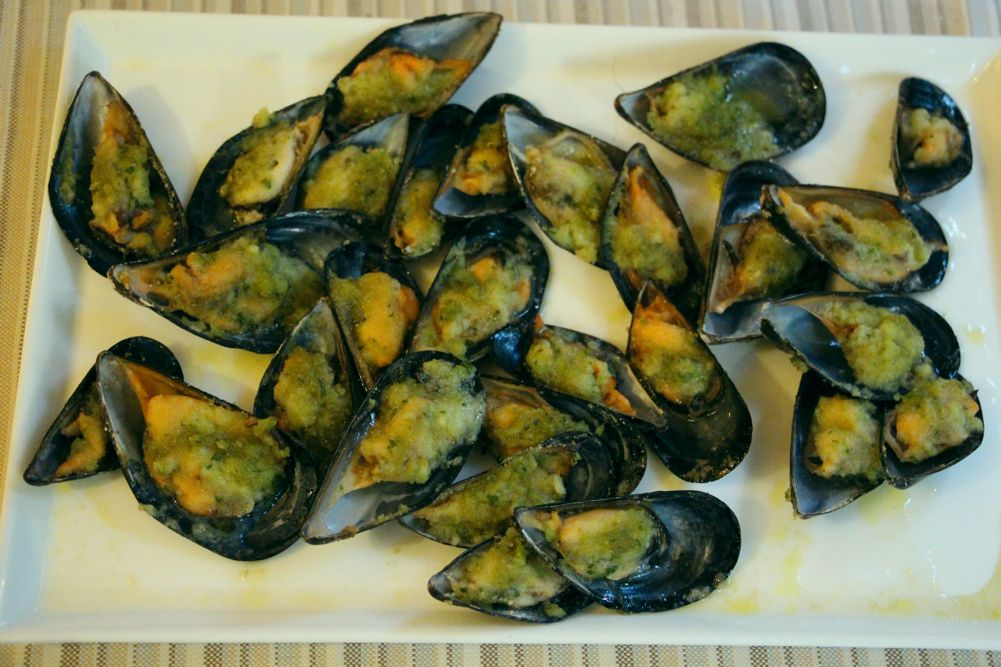 Cozze gratinate - Ristorante Saluma - Cesenatico centro mare