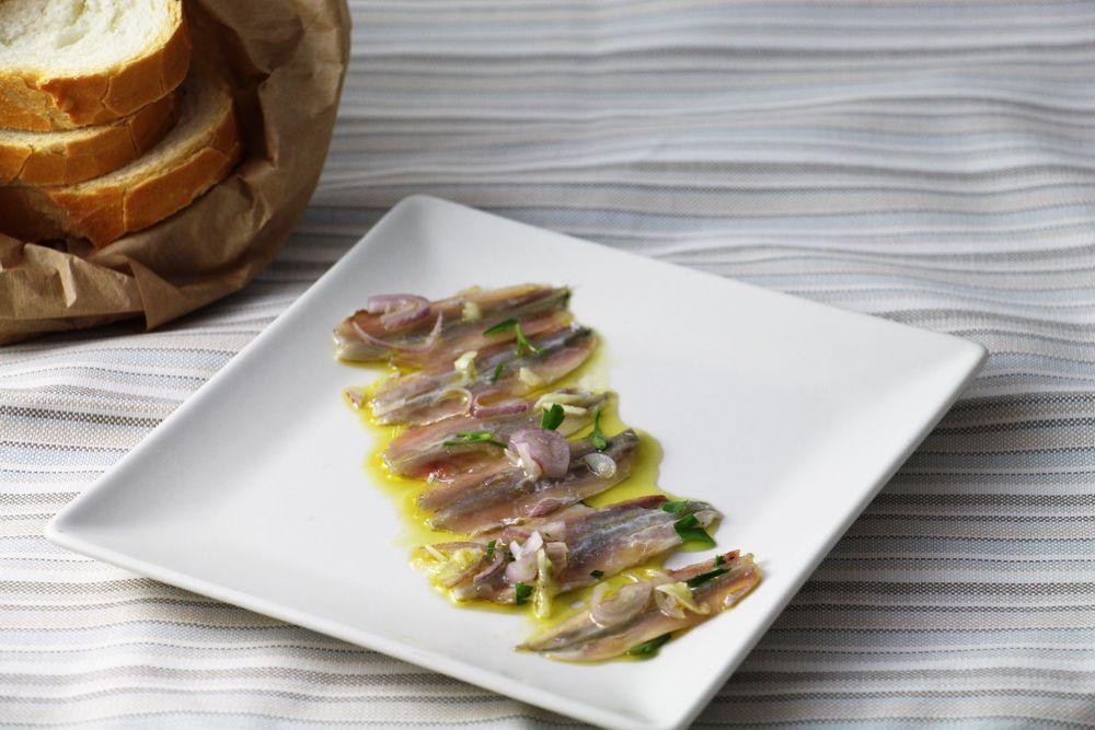 Alici marinate con cipolla - Saluma Cesenatico